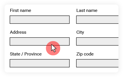 Help to fill out online forms with co-browsing. | ArenimTel WebWithMe