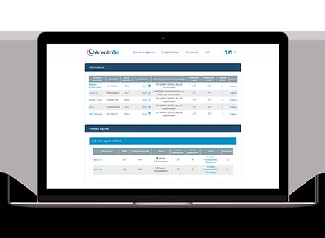 Web-based management platform & secure administration | ArenimTel
