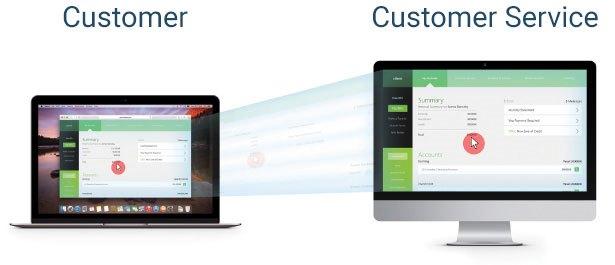Customer service - do not navigate blind! | ArenimTel WebWithMe